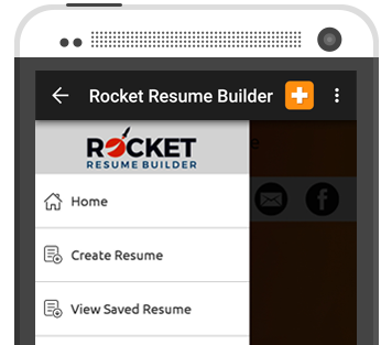 rocket resume builder the easiest resume builder on the planet tap type takeoff
